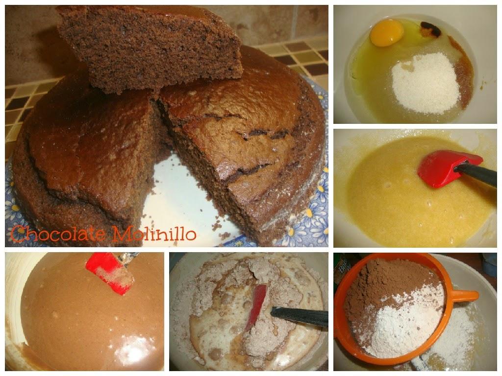 Pastel Exprés de Chocolate