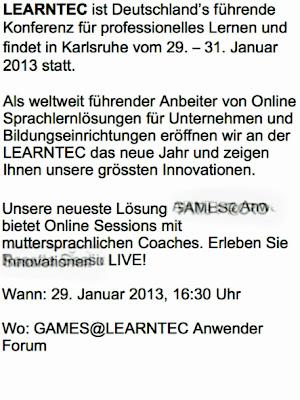 LEARNTEC ist Deutschland's führende Konferenz für professionelles Lernen ...