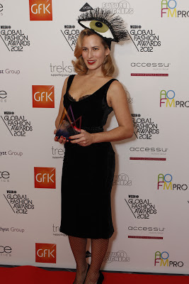 Charlotte Dellal at the Global Fashion Awards