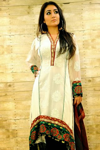 Designer Ashraf Villiani New Party Wear Dresses 2013 For Women And Girls