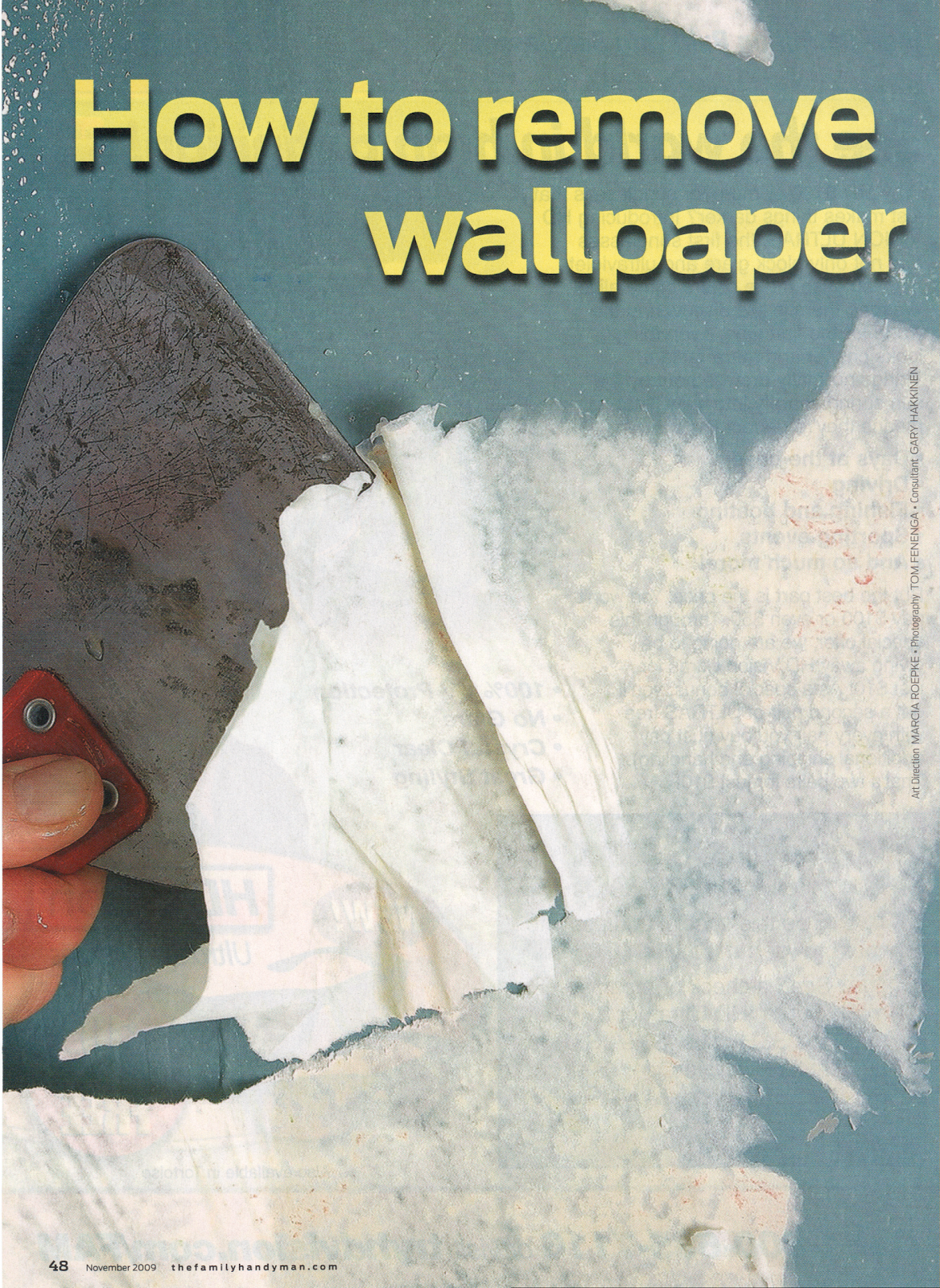 How to remove wallpaper strip recommend you
