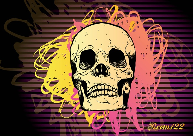 Freebies - Skull Vector