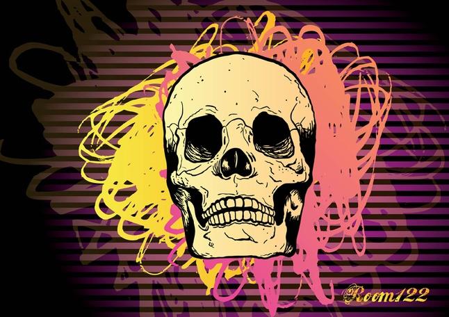 Freebies - Skull Vector