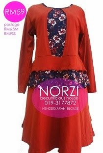 NBH0200 ARANI BLOUSE (NURSING FRIENDLY)
