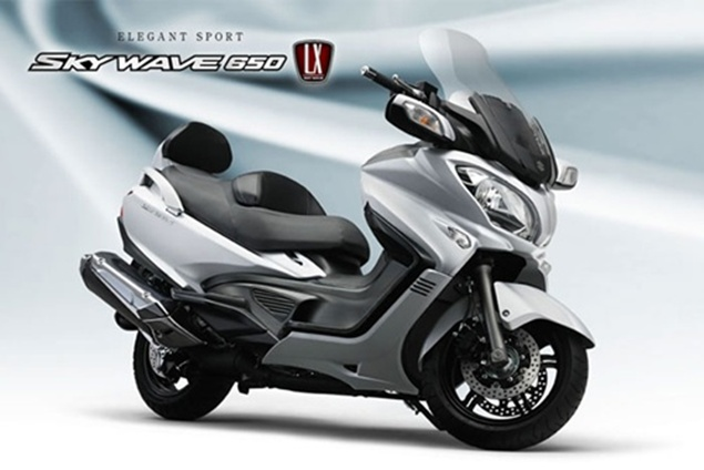 2014 New Suzuki Skywave 650 Review New Motorcycle Review