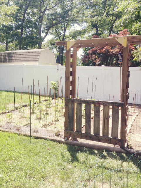Garden Gate Swingset