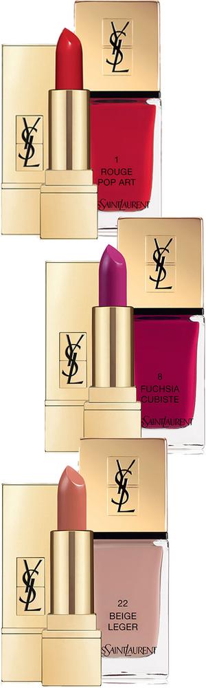 Yves Saint Laurent Beaute The Kiss & Love Collection