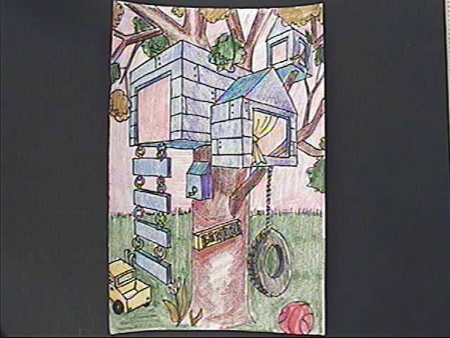 2 point perspective drawing modern house. twopoint perspective tree house 2 point drawing modern