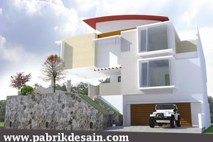Biaya Desain Tampak Rumah Mewah 550ribu