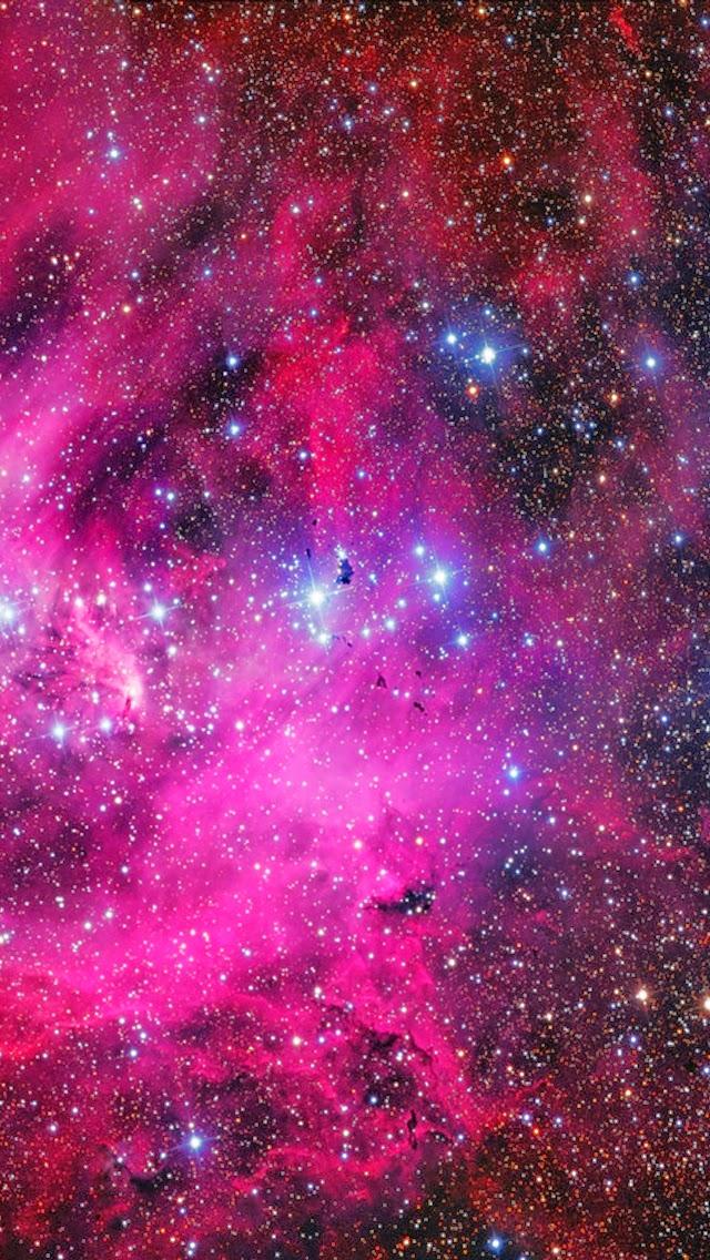 green blue purple pink galaxies - photo #36