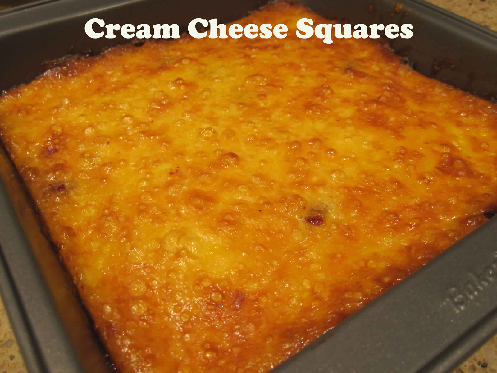 Cream Cheese Squares - Top incredible recipes