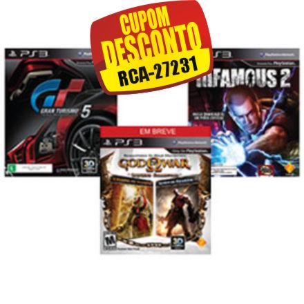 Cupom Efácil - Jogos para Playstation 3