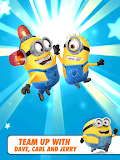 Despicable Me: Minion Rush Dave Carl Jerry Clap