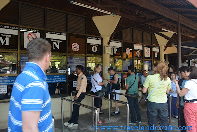 One-Day Pass Counters Angkor