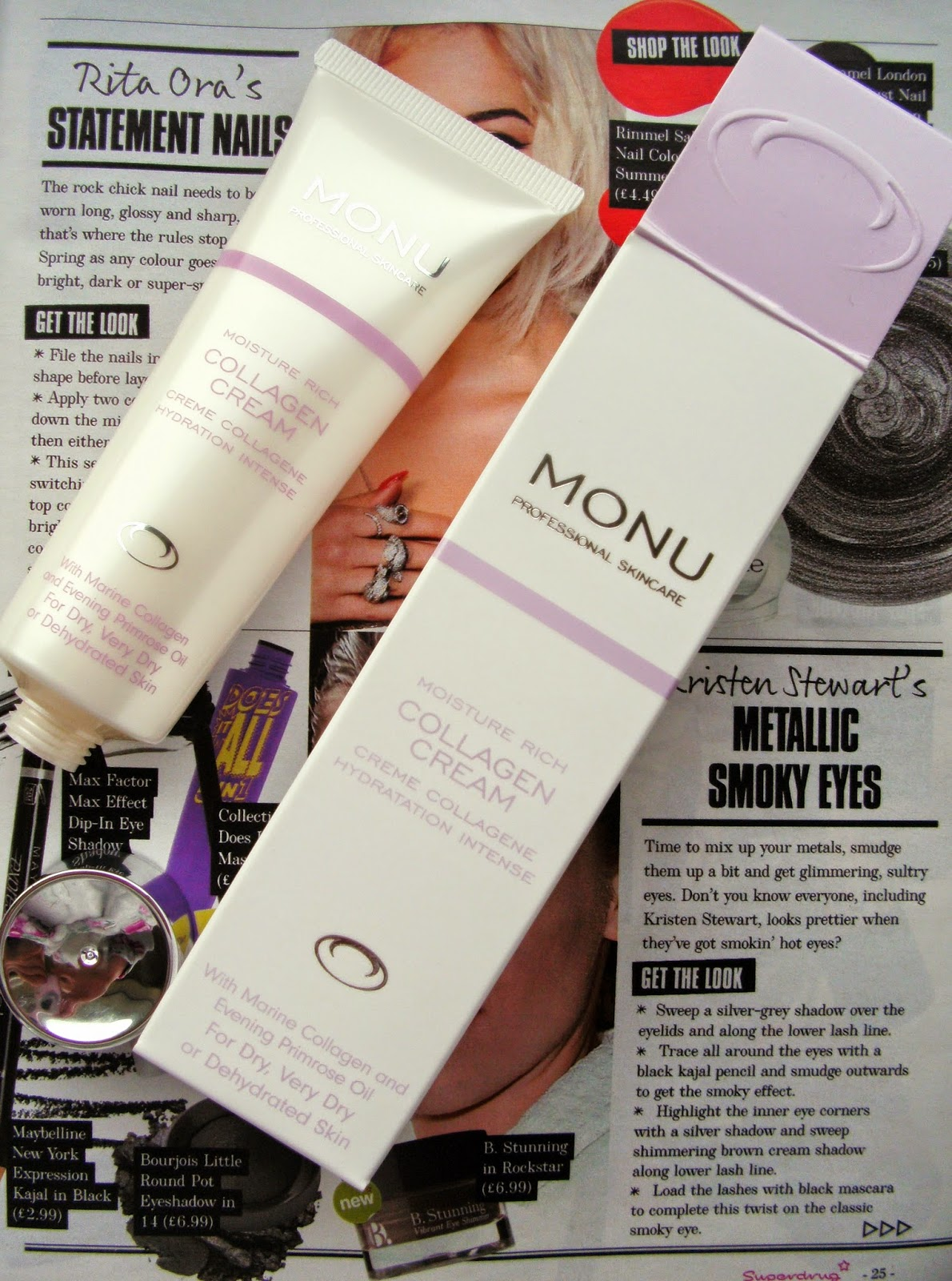 Monu Professional Skincare Moisture Rich Collagen Cream
