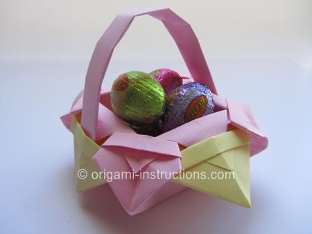 Origami-Instructions.com: Origami Fancy Basket - photo#4