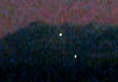 UFOs Over Oroville, California