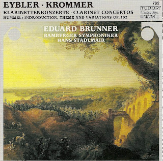 Hummel, J.N.: Variations in F Major, Op. 102 / Krommer, F.: Clarinet Concerto, Op. 36 / Eybler, J.: Clarinet Concerto in B-Flat Major