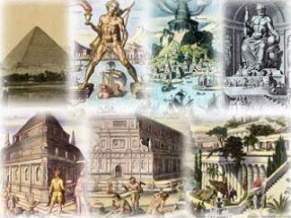Κατασκευές, κτίρια και έργα τέχνης της αρχαιότητας