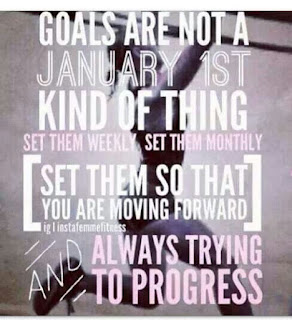Goals are not a January 1st thing...  Chalean Extreme & TurboFire, New Focus, www.HealthyFitFocused.com