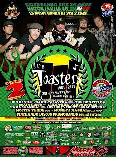 The Toasters en México 2011 Guadalajara