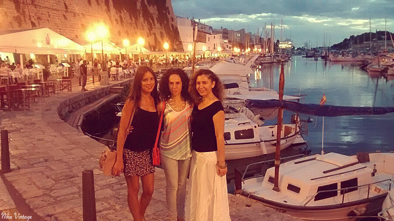 Ciutadella, ciudadela, puerto, nit, noche, momentos