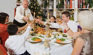 Cena navideña perfecta