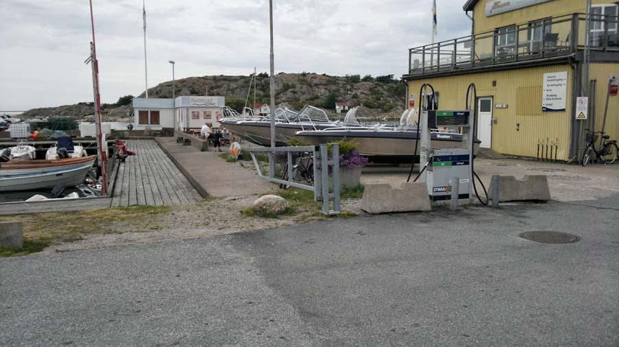 Fisk och skaldjur restaurang i Havstenssund