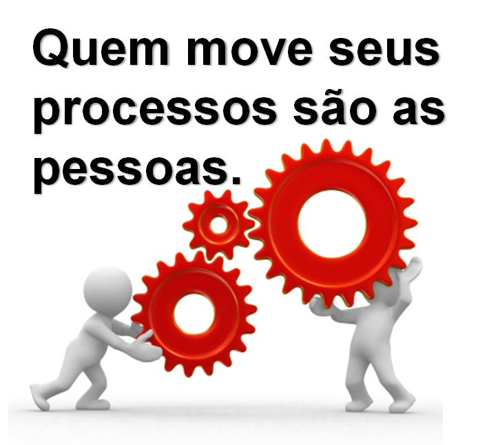 Quem move seus processos são as pessoas.