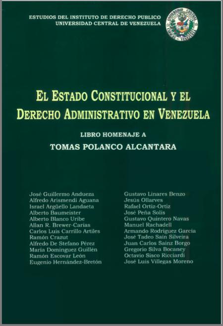El regimen administrativo de la política exterior en Venezuela.