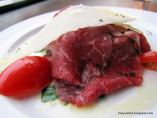 Svago, KLCC, Italian restaurant, Planeta wines, food wine pairing