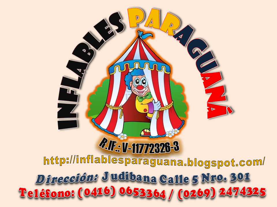 INFLABLES PARAGUANÁ