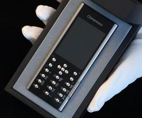 Gresso Azimuth A1 Dual-SIM Luxury Phone