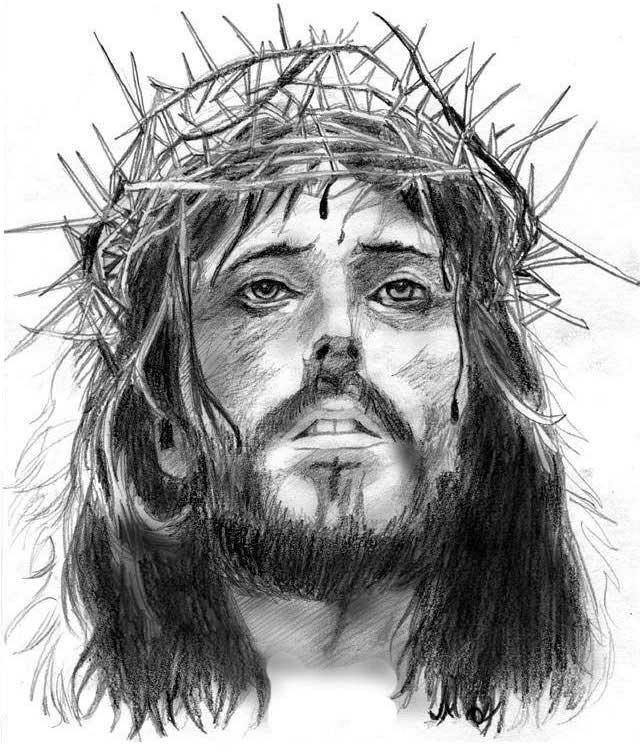 Amigos Da Paz Desenhos De Um Jesus Mais Real