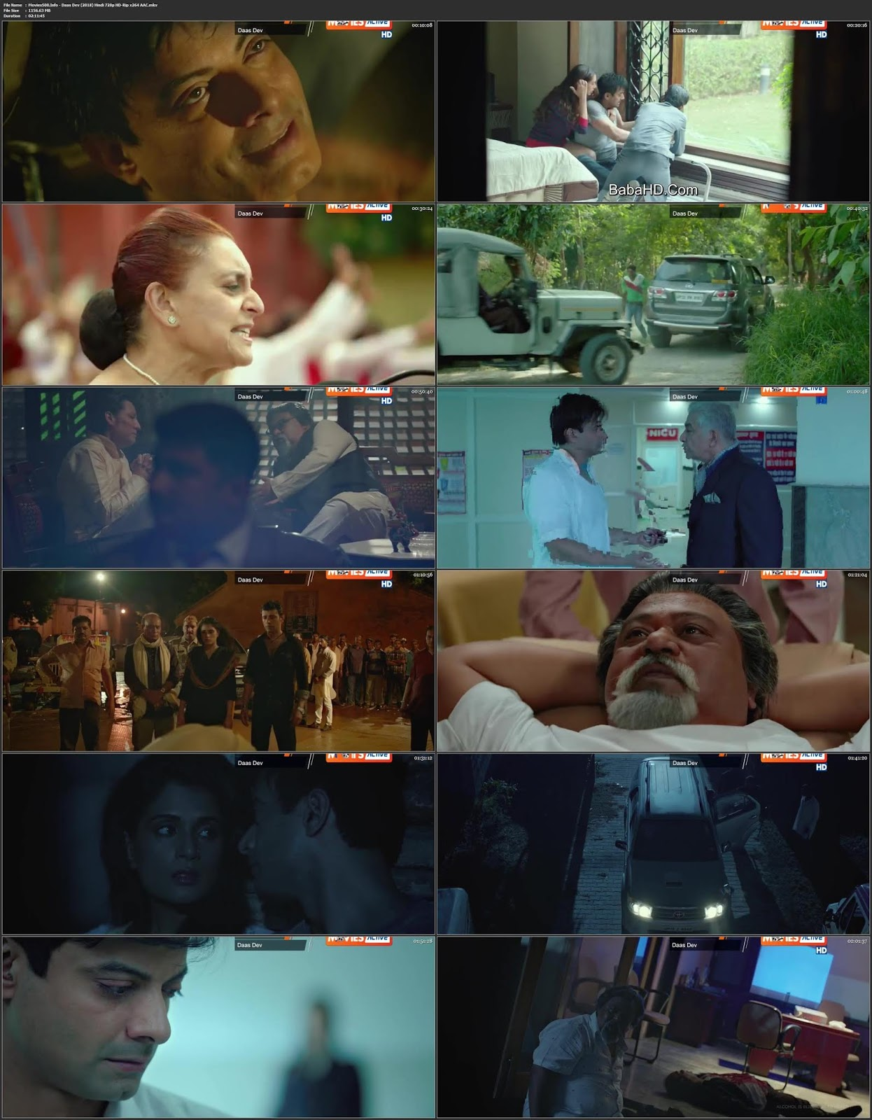 Daas Dev 2018 Hindi Full Movie HDTVRip 720p 1.2GB