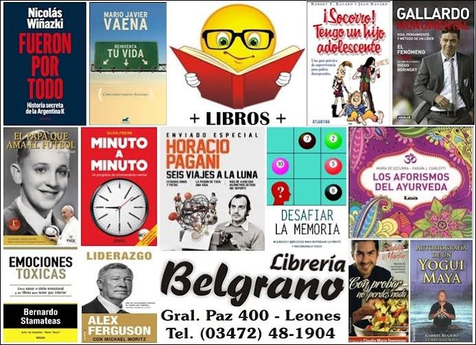 ESPACIO PUBLICITARIO: LIBRERÍA BELGRANO