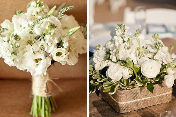 Les bouquets de mari e 2012 notre s lection - Fleurs des champs blanches ...