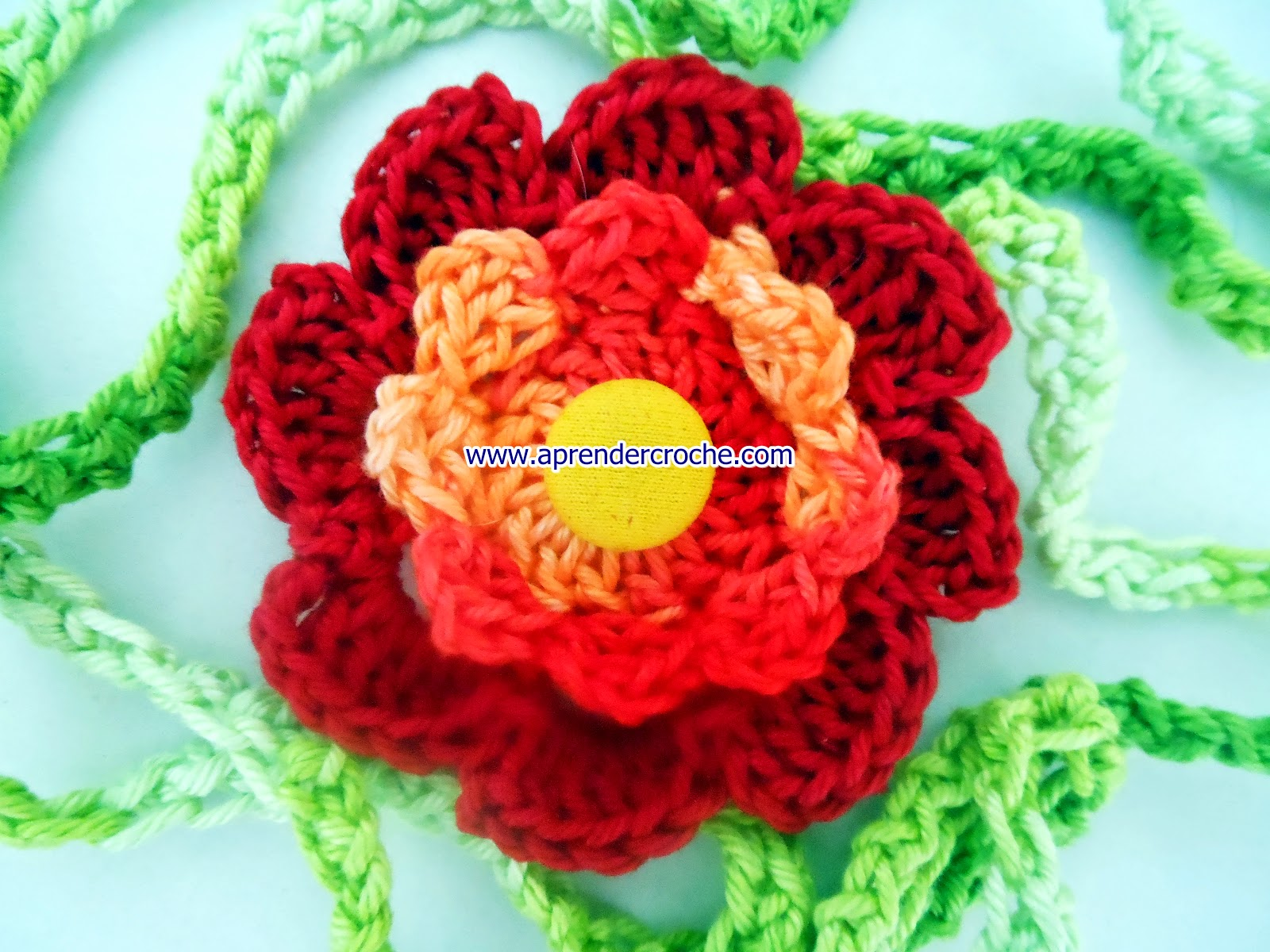 cem flores em croche coleção youtube dvd aprender croche com edinir-croche loja facebook