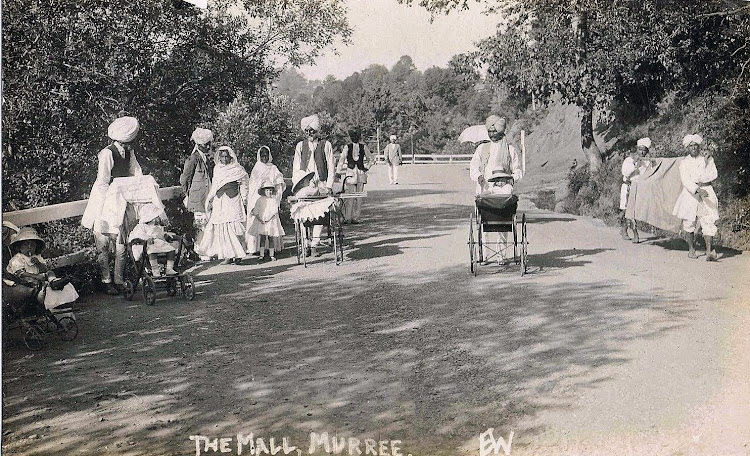 Life at the Mall - Murree, Punjab‬ c1900's