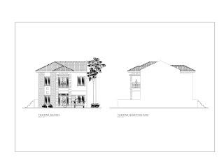 panduan bangunan rumah desain rumah 2 lantai di