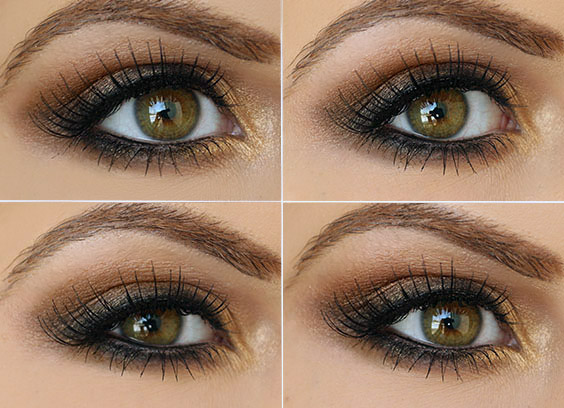 Smokey Brown Eyeshadow Tutorial