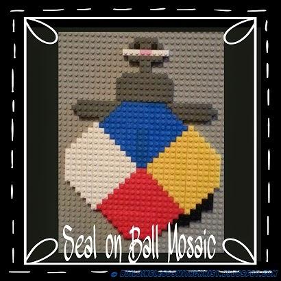 Love this LEGO Seal Creation.  How fun!