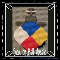 Love this LEGO Seal Creation.  How fun!