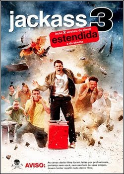 Filme Jackass 3D Dublado AVI BDRip