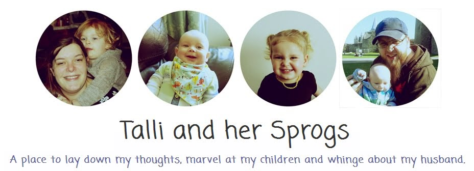 Talli and her Sprogs