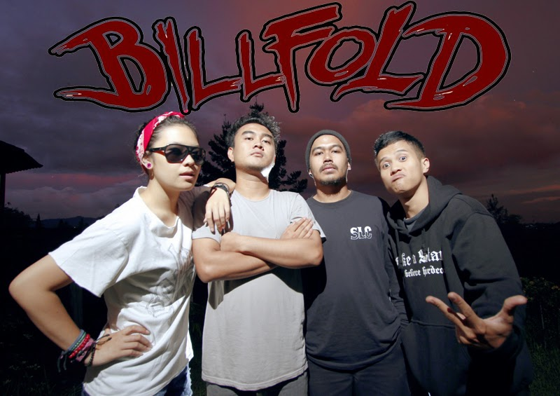 Wallpaper Billfold Band Pop Punk / Hardcore Bandung Indonesia Foto Gania Personil Logo Artwork Wallpaper