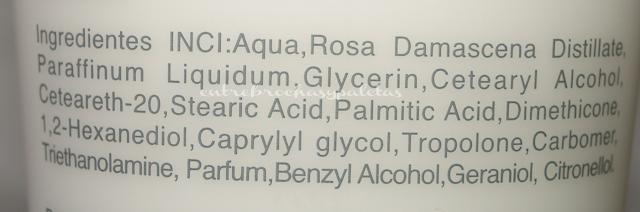 hidratante carla bulgaria