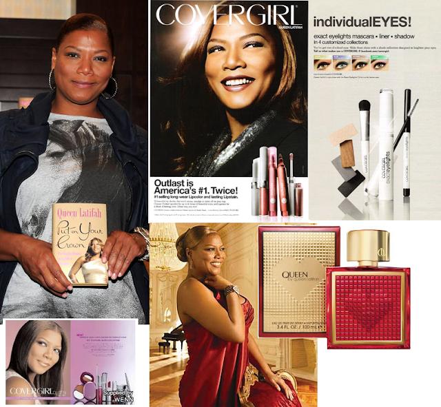Queen Latifah lançou maquiagens, perfume e livro