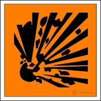Macam-macam Simbol Keselamatan Kerja di Laboratorium - Mudah meledak - echotuts