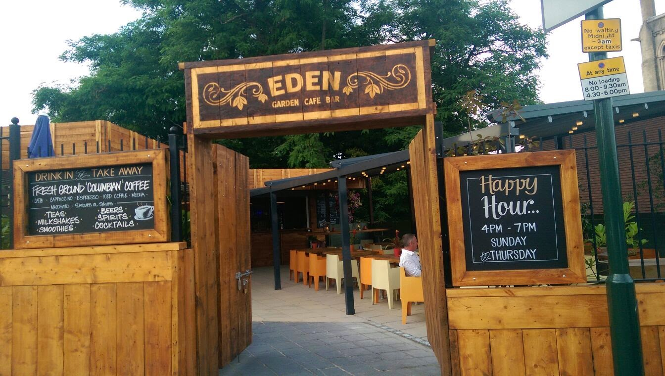 Maria\'s 30 Challenges before 30 for Julia\'s House: Eden Cafe Bar ...